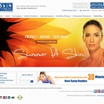 Web Design - Skin Care
