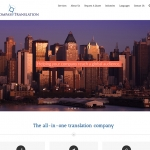 Web Site Design - Language Translation