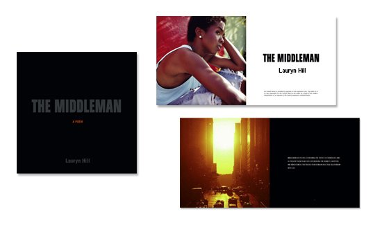 Book Design Sample Image - The MiddleMan by Lauryn Hill