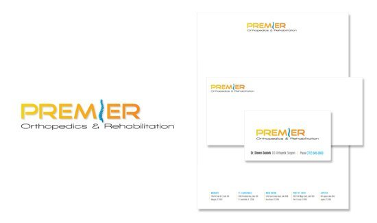 Branding for medical company - Corporate identity