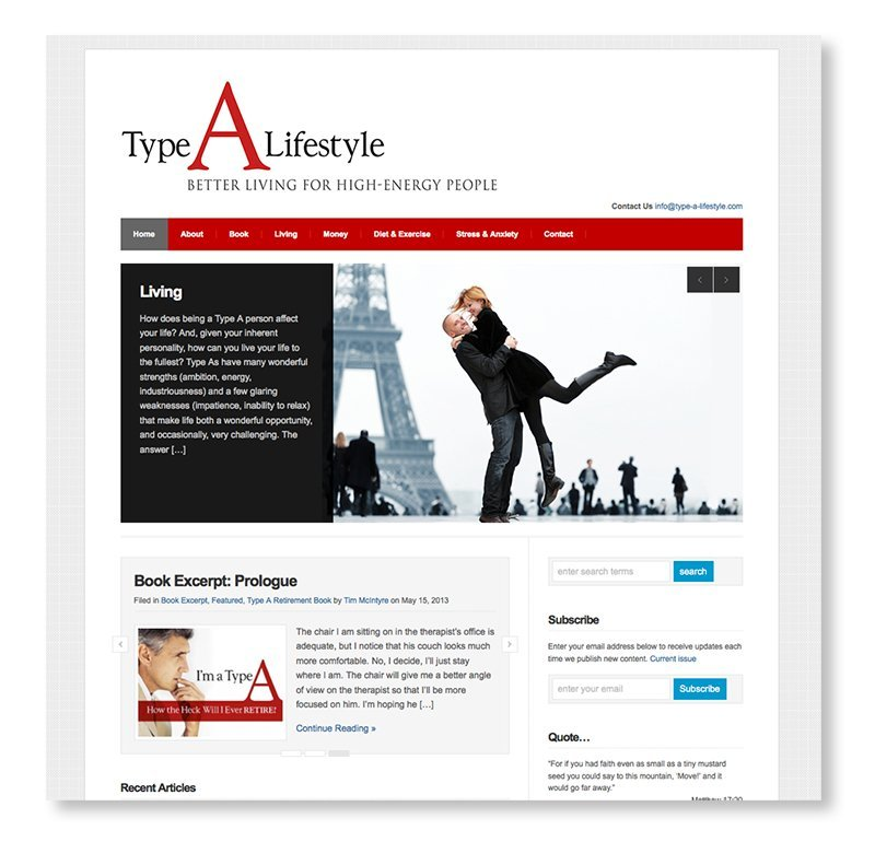 Web Design for Author