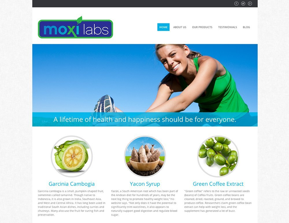web design sarasota - health and Wellness