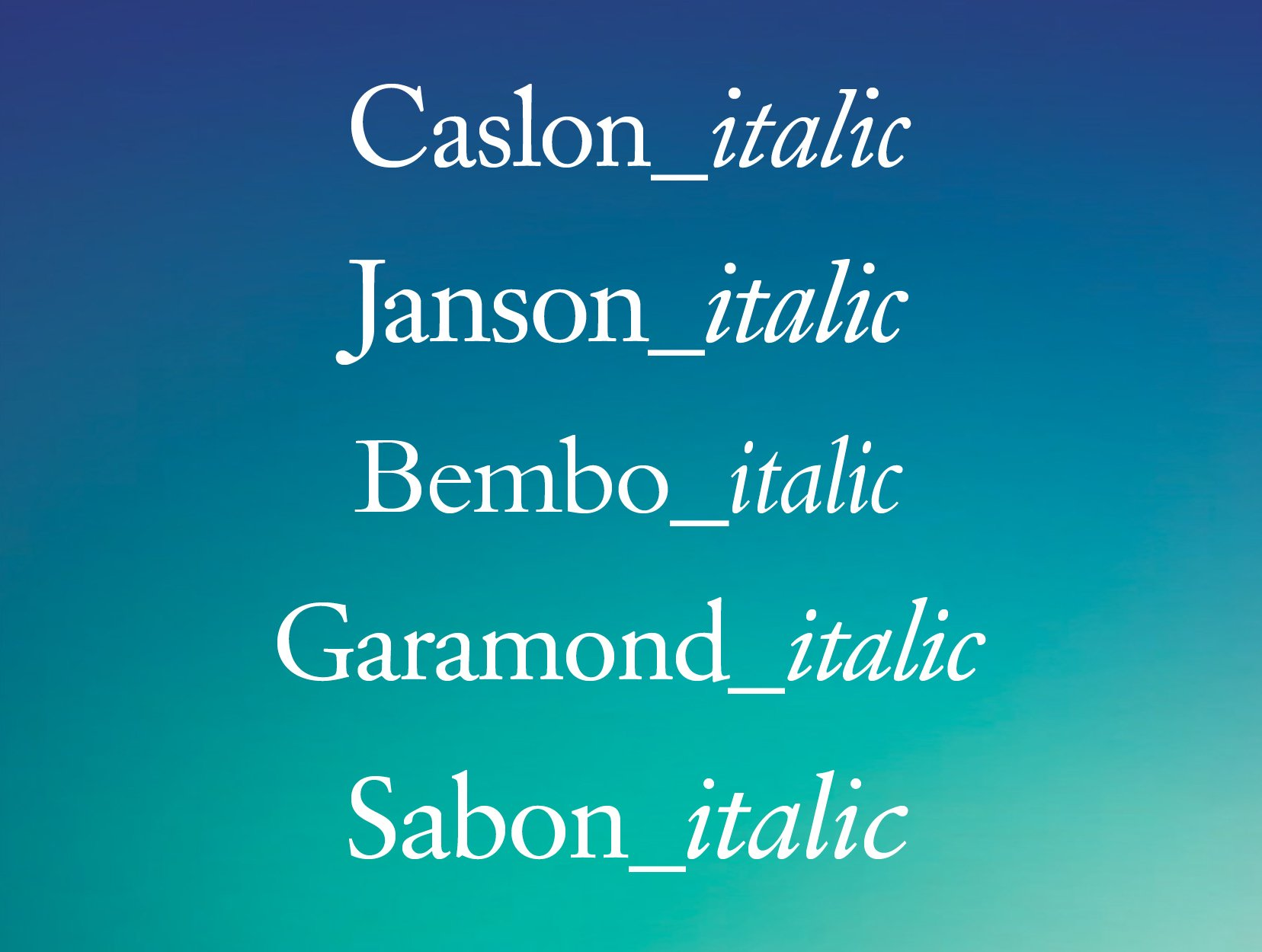Fonts for interior book design—which ones to use?