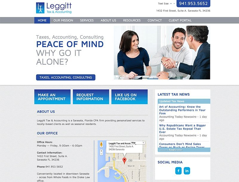 Website Design Sarasota