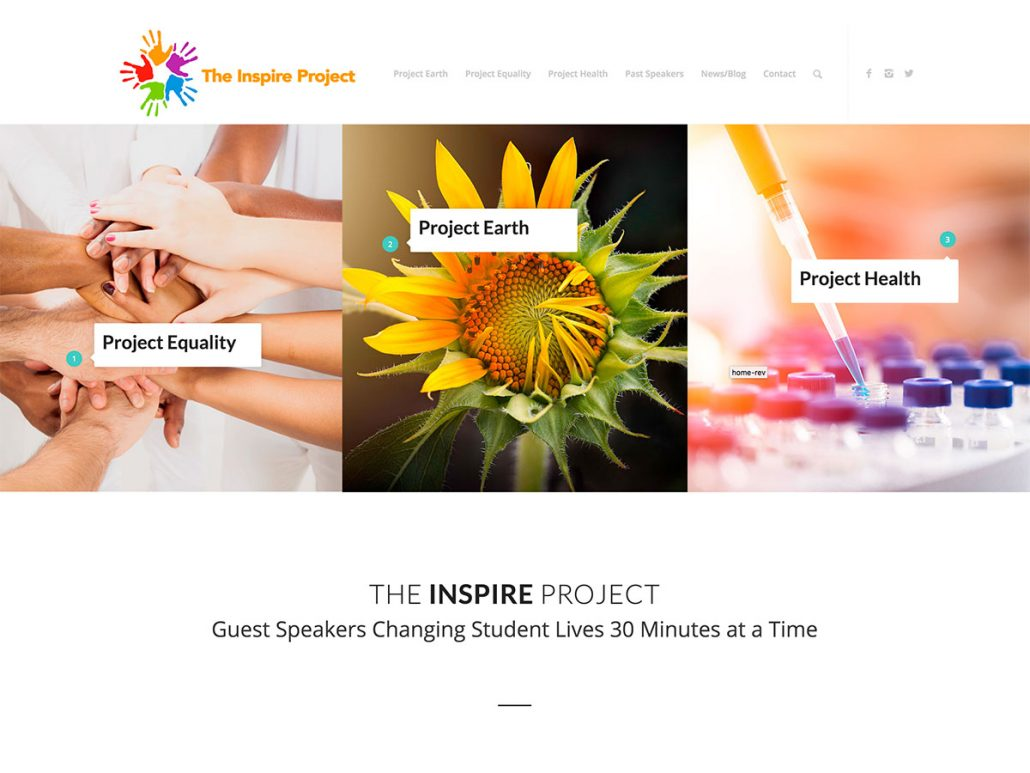 Website for Health Initiatives