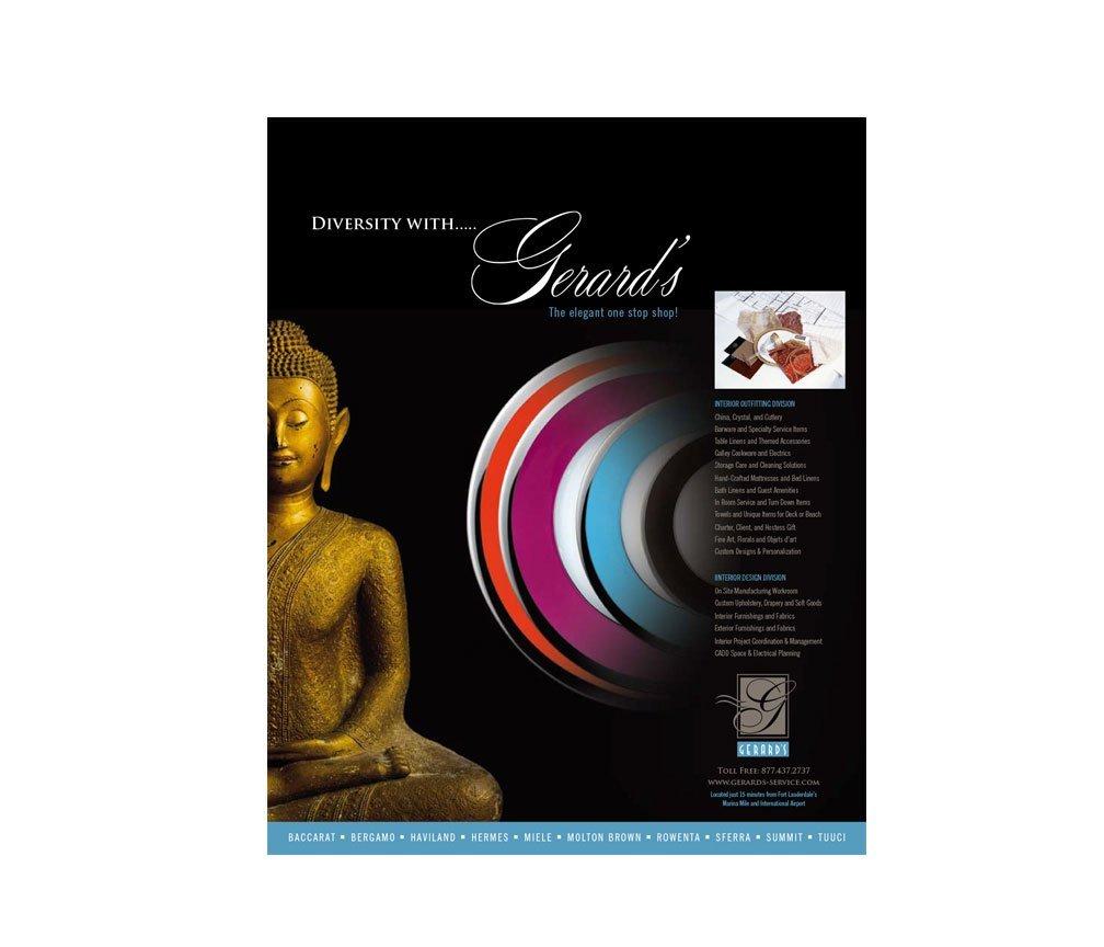 ad design for magazine