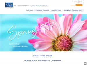 Website for skincare